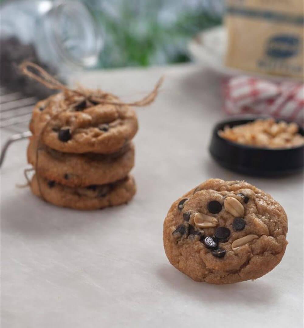 Peanut Butter Cookies (Single Serving)