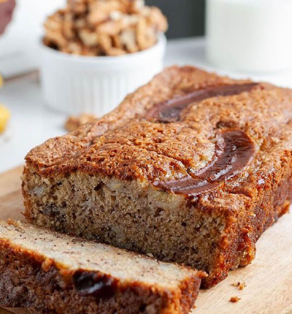 Banana Walnut Bread (One Loaf)